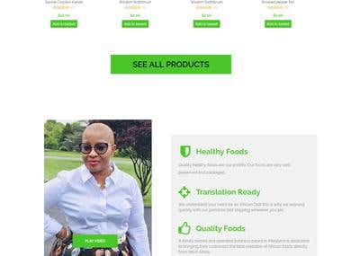 Organic Products Online Store