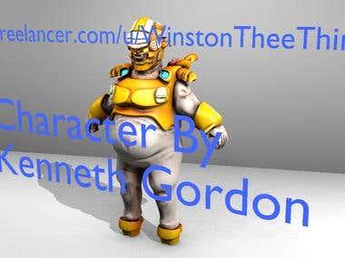 The Short Monster Man By Me Kenneth Gordon Designed for game