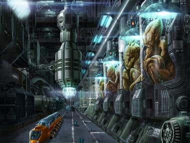 The underground Doom