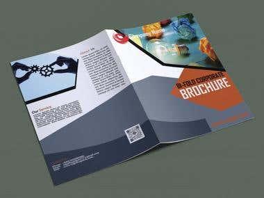 Professional bi-fold brochure