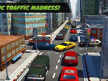 City Traffic Control Simulator: Intersection Lanes