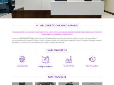 E-commerce Sublimation website
