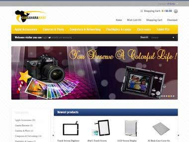 Shoping Site(OpenCart)