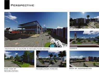Care Center II Design & visualization