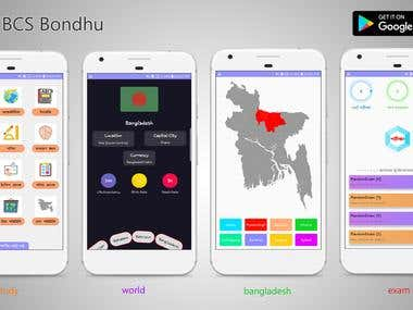 BCS Bondhu (High profile Android Application)