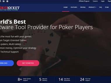 SaaS for Poker game Support Tool
