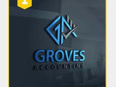 Logo Design for Groves Accounting