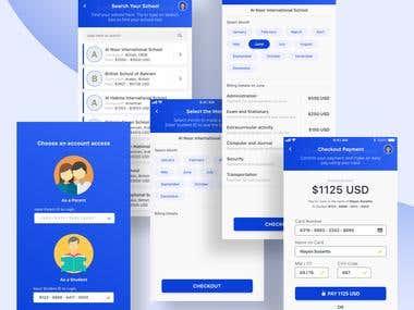 School Payment App Concept