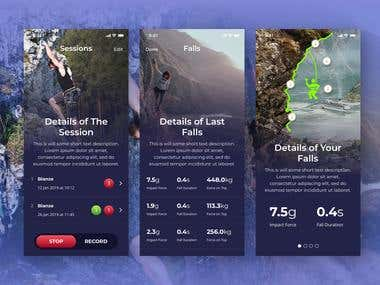 Rock Climbing Training App