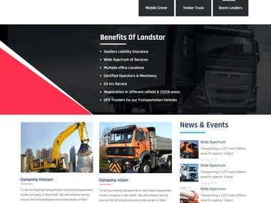 Landstar website
