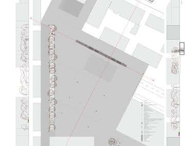 Urban and Architectural Design of City Square