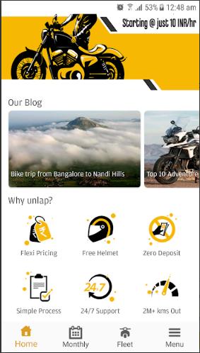 Bike Rental platform