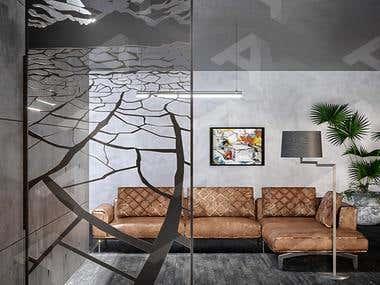 Decorative 3D Panels.