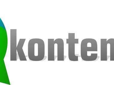 Logo para agencia de contenidos