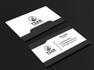Business Cards design .