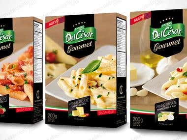packaging empaque pasta gourmet