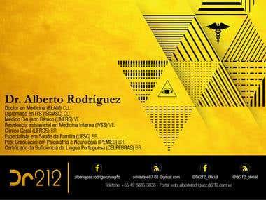 TARJETAS DE PRESENTACIÓN - DR. ALBERTO RODRIGUEZ