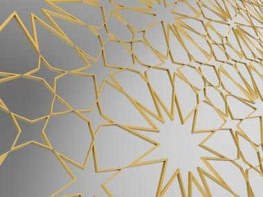 Parametric Islamic pattern