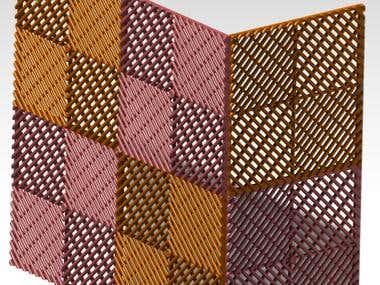 plastic tile design