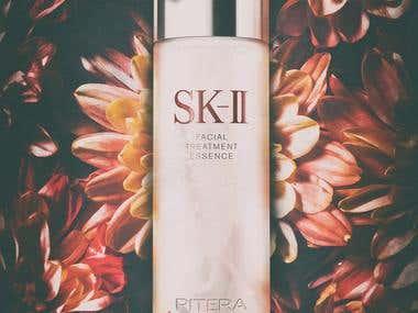 SK-II Facial treatment essence advertisement