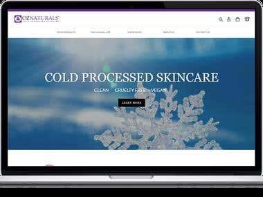 OZ Naturals:Skincare