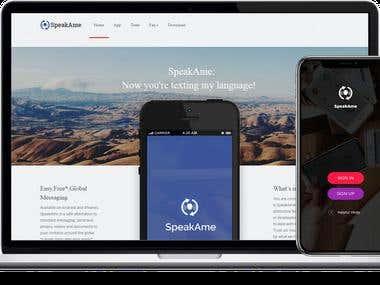 SpeakAme: Messaging App