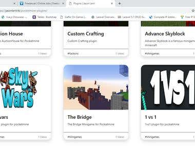 My Plugins Website