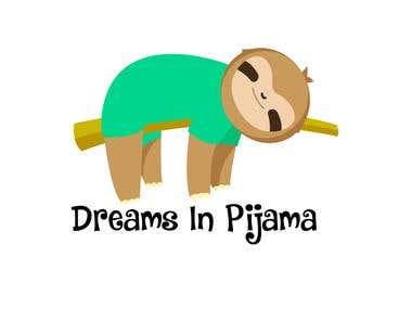Logotipo para Dreams In Pijama
