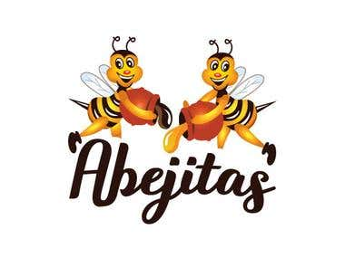 Abejitas-honey sweetened chocolates logo