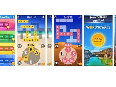 Wordscapes Game Clone