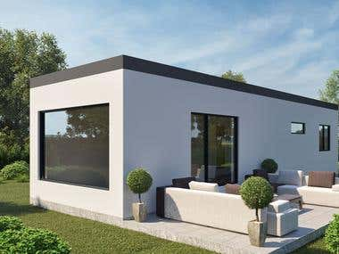 Exterior-3D visualization
