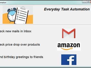 Everyday Tasks Automation