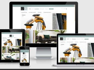 Woo Commerce Website with Professional design