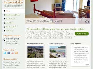 Wordpress CMS Web Development For Apartment Rentals