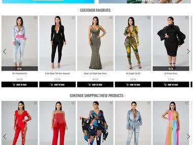 Shopify theme same as Fashionnova.com