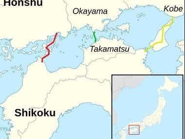 Sistema de Puentes de Honshū–Shikoku