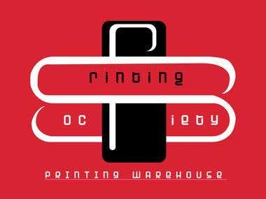 Printing warehouse logo