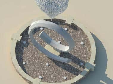 Fountain Conceptional design