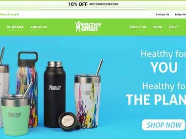 Shopify - Healthy Human Life