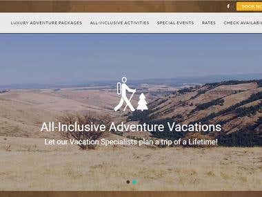 Scotlyn Ranch Web site - Wordpress