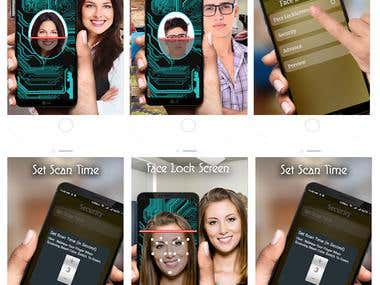 Face Screen Lock(Open CV)