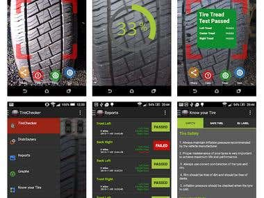 Tyre Checking App(Open CV)