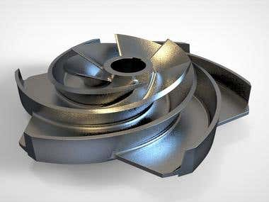Reverse Engineering Impeller