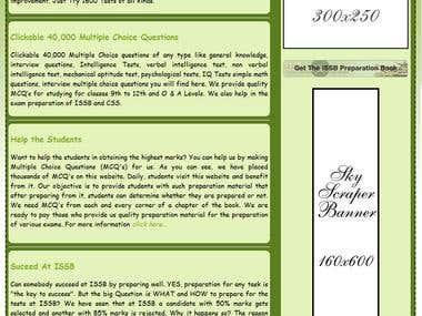 Green Blast - HTML Theme