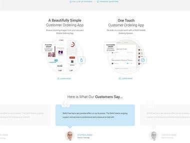 Online Customers Ordering Website