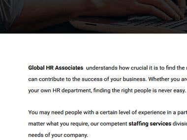 Services:-Recruitment,Payroll Solutions,Statutory compliance