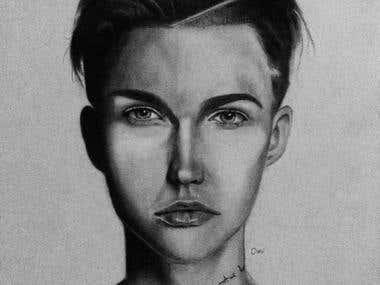 Portrait Drawing 5