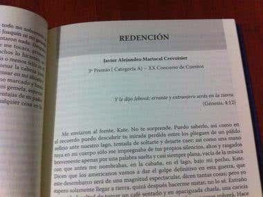 Relato premiado España