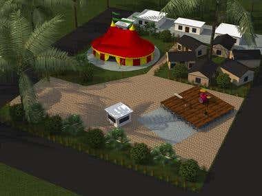 Village 3D Model