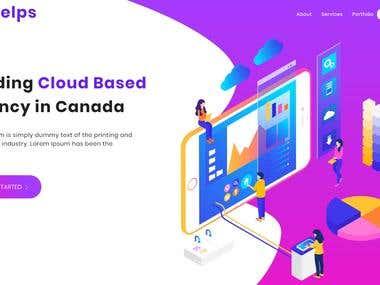 Cloud based company website